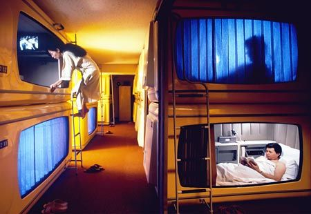 Japan The Tiny Hotel Rooms Capsules How Interesting Japan