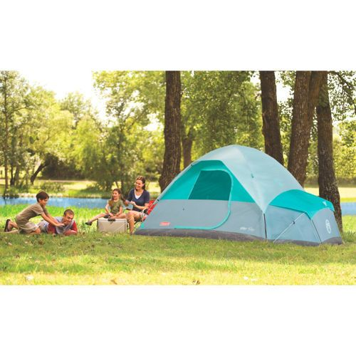 Coleman® Fast Pitch™ 7-Person Dome Tent with Annex  sc 1 st  Pinterest & Coleman® Fast Pitch™ 7-Person Dome Tent with Annex | Camping ...