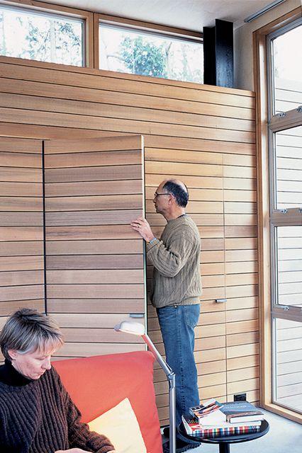 Dwell Chic Useful Storage Solutions Alternatives To Drywall Hidden Closet Hidden Door