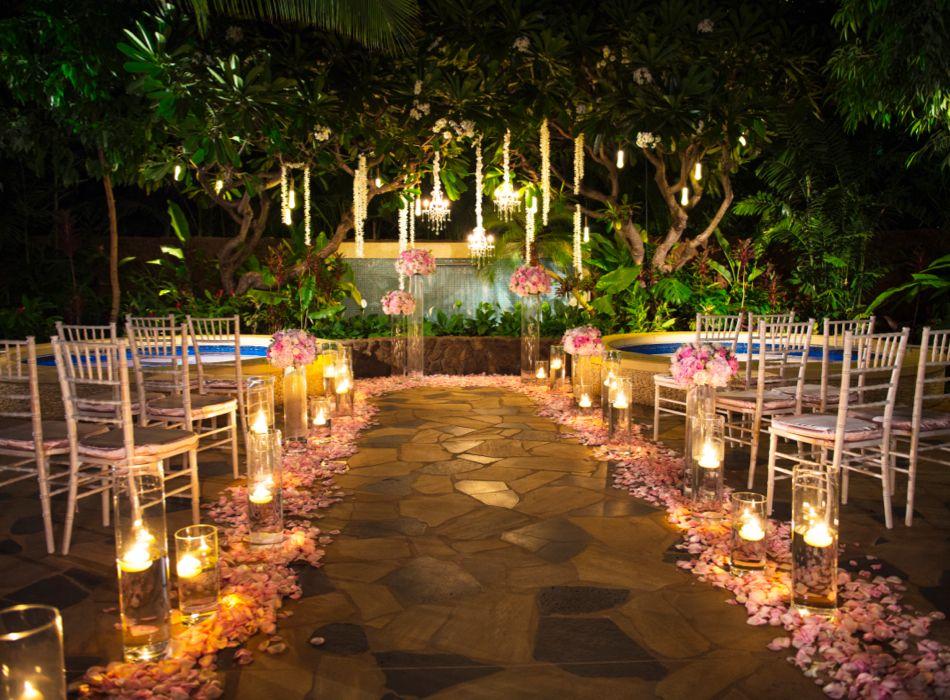 Fairytale Sweet Pea Petunia Oahu Wedding Venues Wedding Venues Hawaii Oahu Wedding