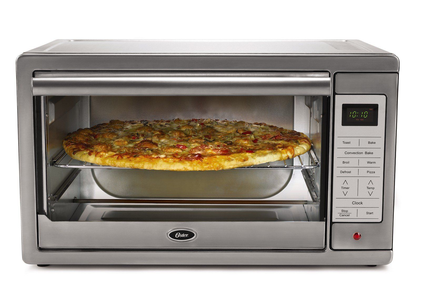 Countertop Oven Commercial Convection Stainless Steel Toaster Pizza Extra Large