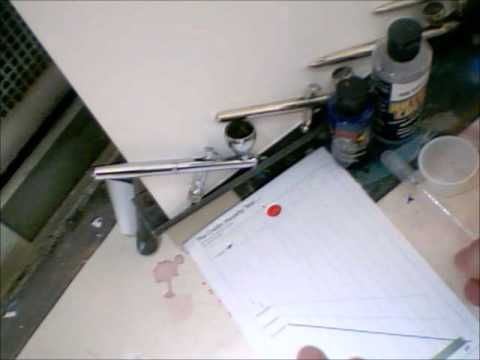 Mixing Correct Paint Viscosity For Airbrushing Air Brush Painting Airbrush Airbrush Art