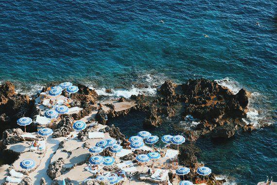 One Kings Lane - Weekend Roundup - La Fontelina Beach Club ...  |Capri Beach Scenes