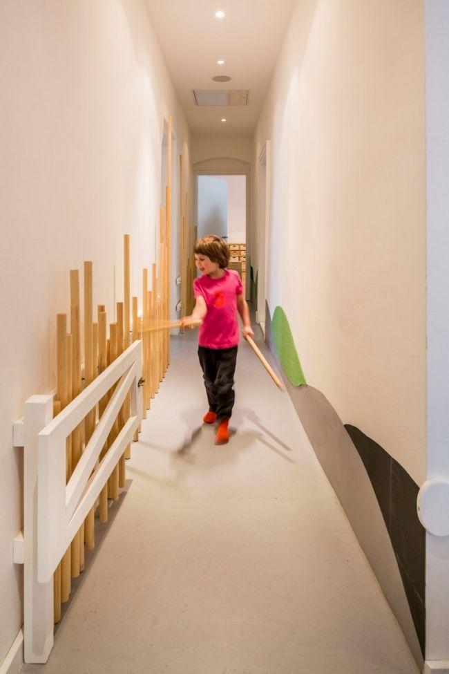 Innendesign Flur Gestaltung-Kindergarten Tagesstätte Berlin Kita - coole ideen fur flurgestaltung