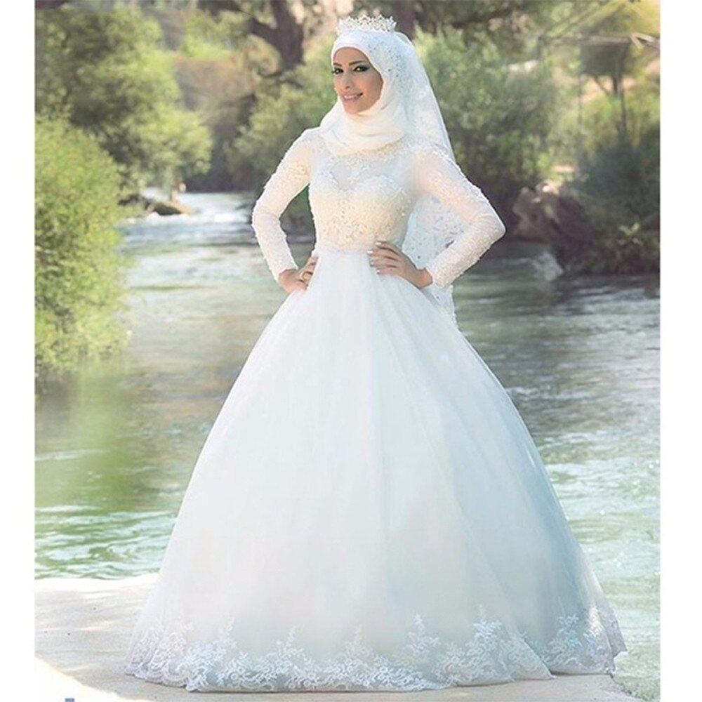 Pin By Sahil Ki Shabee میری زندگی On Muslim Bride Gowns Beach Wedding Dresses Backless Bride Gowns Satin Wedding Dress Simple [ 1000 x 1000 Pixel ]