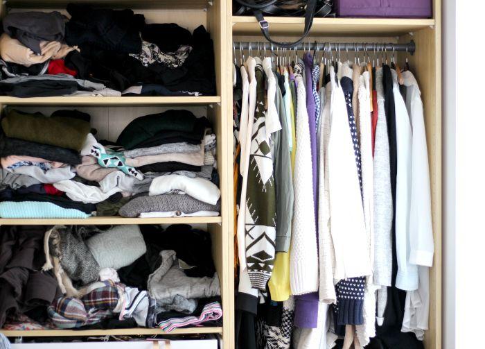 Kleiderschrank in 5 Schritten aufräumen