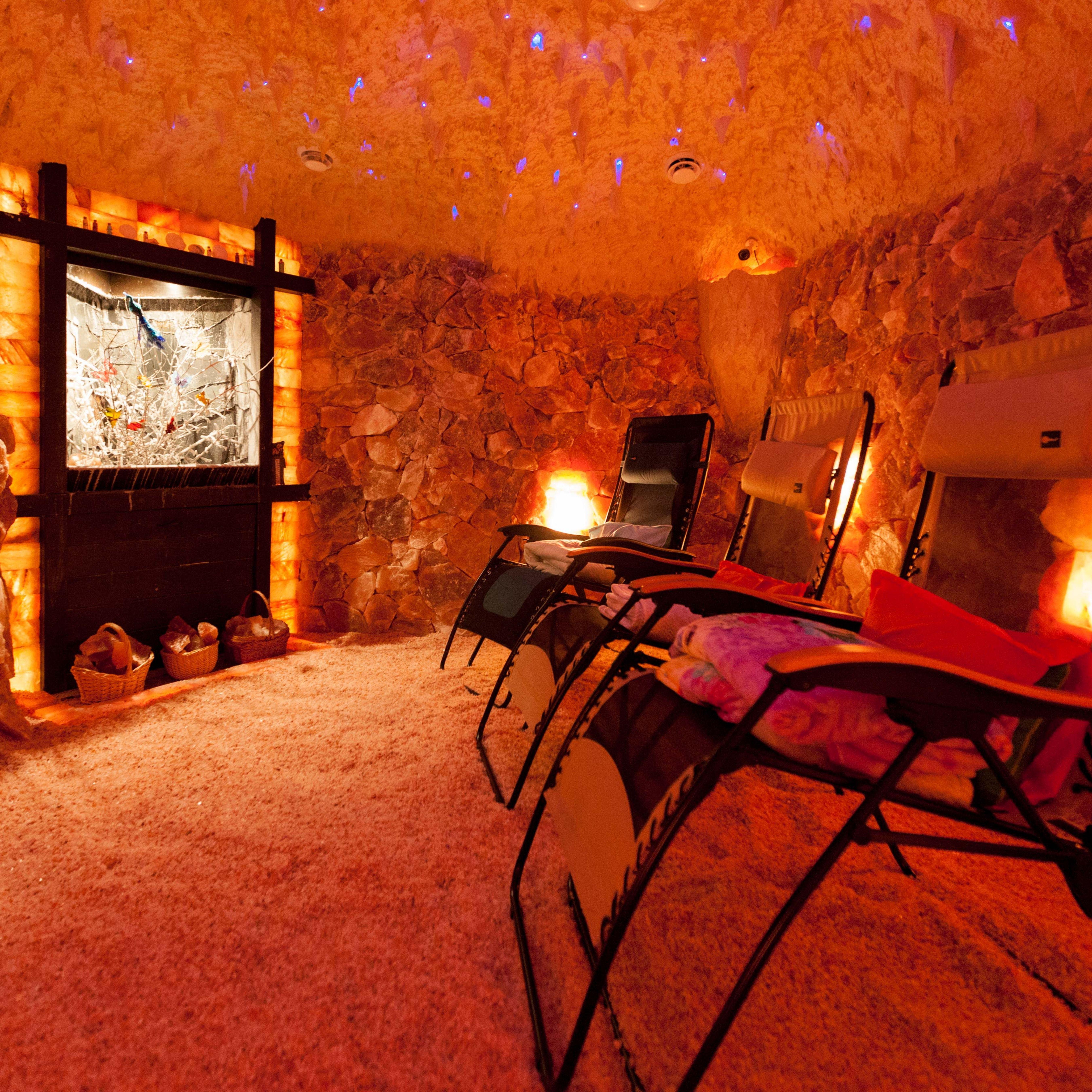 Salt Therapy Spas Salt Cave Salt Room Himalayan Salt Cave