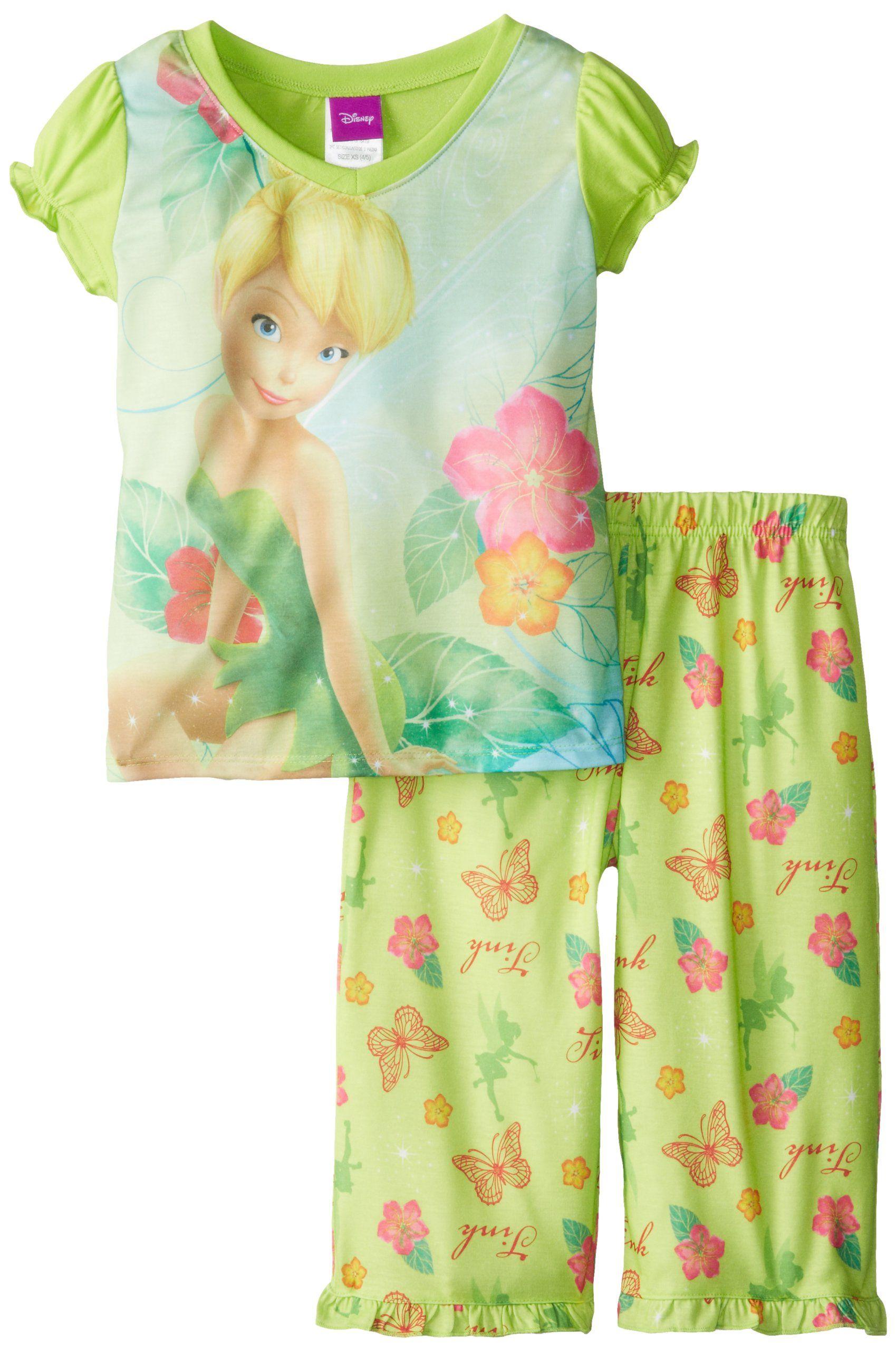 "Disney Tinkerbell /""Dream/"" Girl/'s Pajamas"