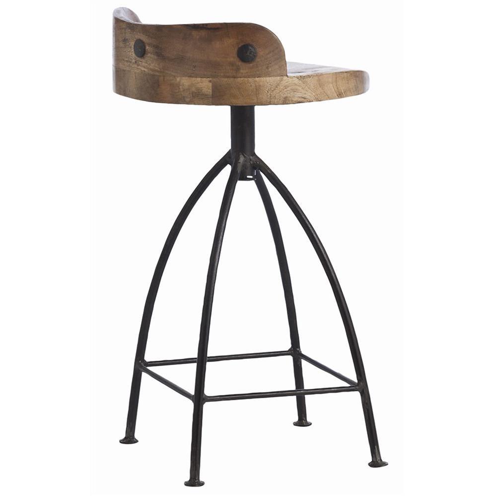 Elegant Arteriors Wooden Bar Stool