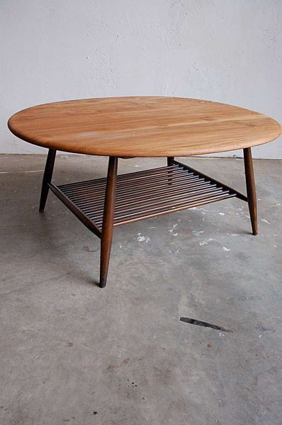Ercol Coffee Table Coffee Table Mid Century Modern Coffee Table