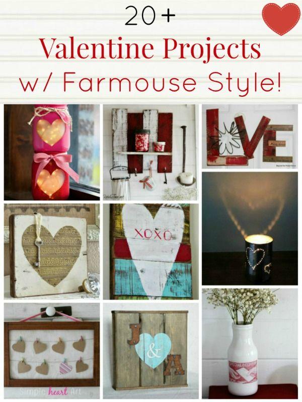 Valentine Diy Projects Farmhouse Friday Farmhouse Valentine