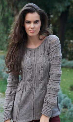 Knitted Jumper For Women Free Knitting Pattern Knitting Sweaters