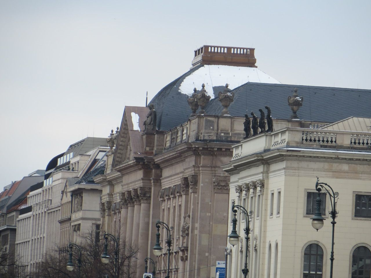 Staatsbibliothek Unter den Linden Januar 2016
