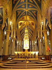 image of Notre Dame Cathedral Basilica one of the free things and stuff to do in Ottawa