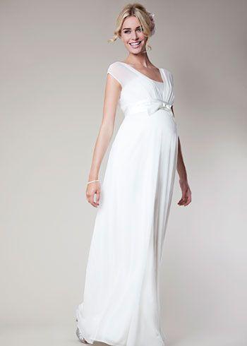 Lily Silk Gown Long   Vestidos embarazada, Vestidos novia y Vestiditos