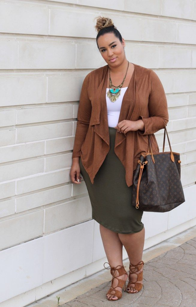 8e3e14895 An Autumn Palette | Plus Size Work Wear | Fashion, Plus size fashion ...