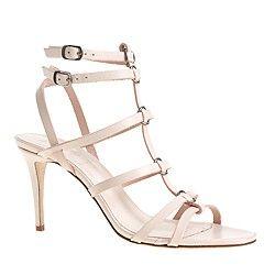 Ringed gladiator high-heel sandals