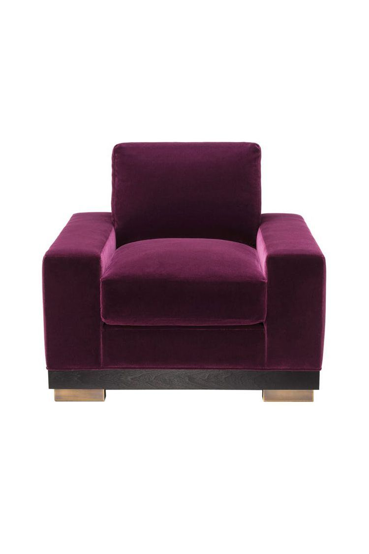 20 Plush Upholstered Chairs To Sink Into Plush Chair Armchair Upholstered Chairs