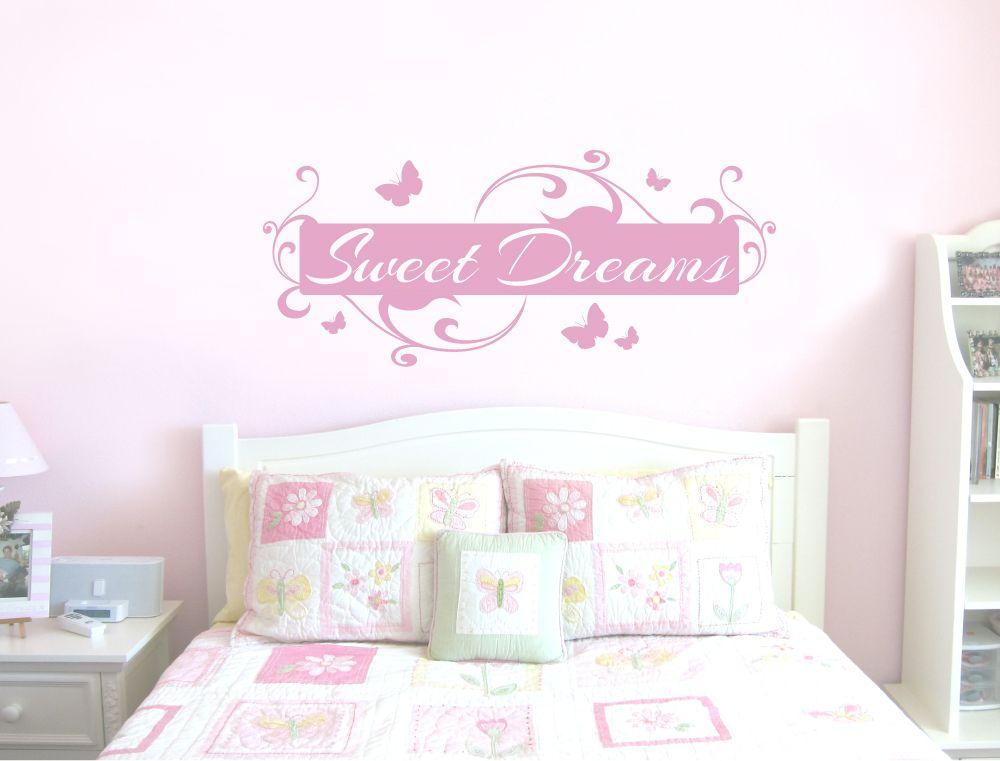 sweet dreams wall sticker | stickers | pinterest | wall decals, wall