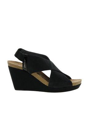 28721453431f DKNY Monique Heeled Sandal Asos Online Shopping