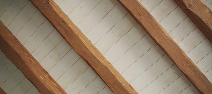 Incroyable Faux Plafond En Pvc Pour Cuisine White Wood Wood Ceilings Ceiling