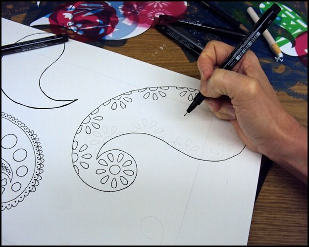 Draw Doodle and Decorate: Paisley Inspiration