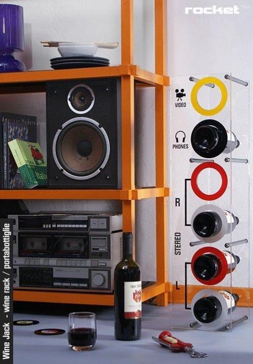 Sweet wine rack :D