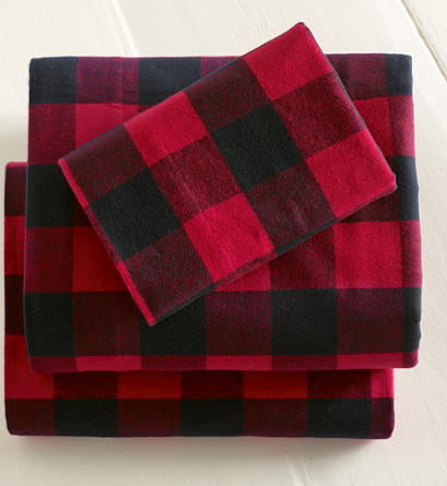 L L Bean Buffalo Plaid Flannel Sheets For Holiday Bedding Plaid Bedding Plaid Sheets Buffalo Plaid Flannel