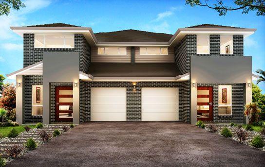 Kurmond Homes Custom Home Builders Sydney Duplex Design Townhouse Designs New Home Builders
