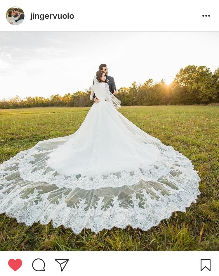 Jinger Duggar Wedding Dress.Jinger Duggar Vuolo S Wedding Dress The Duggar Bates And Sister
