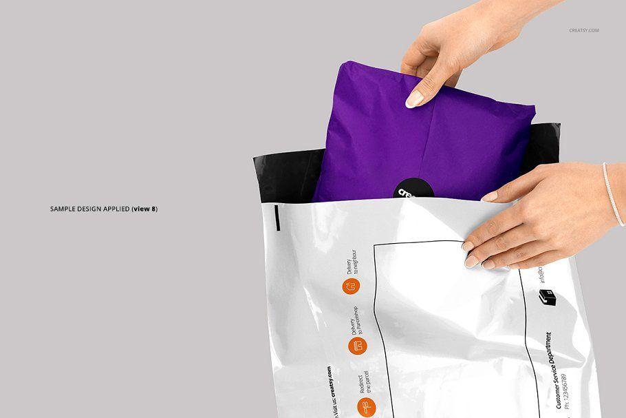 Download Mailing Bag 2 Mockup Set Digital Design Trends Creative Market Business Design