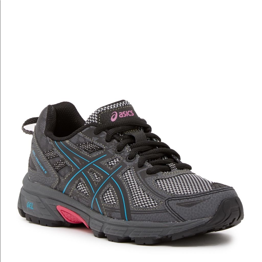 Asics Shoes | Asics Gel Venture 6 Trail Running Shoes Black