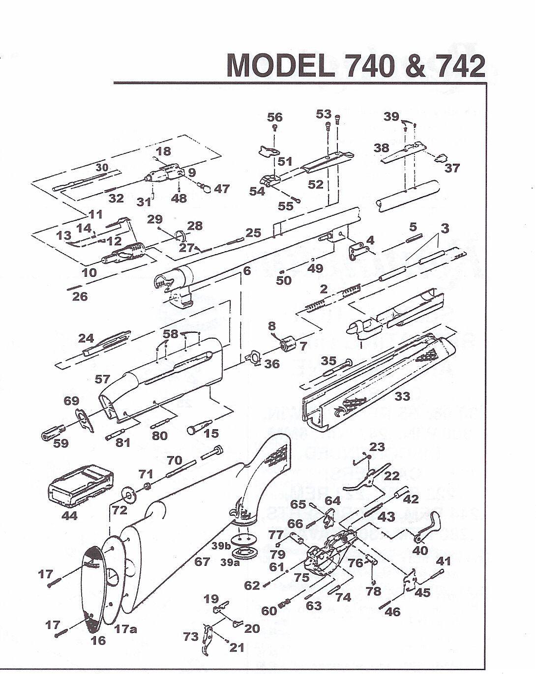 remington woodsmaster 742