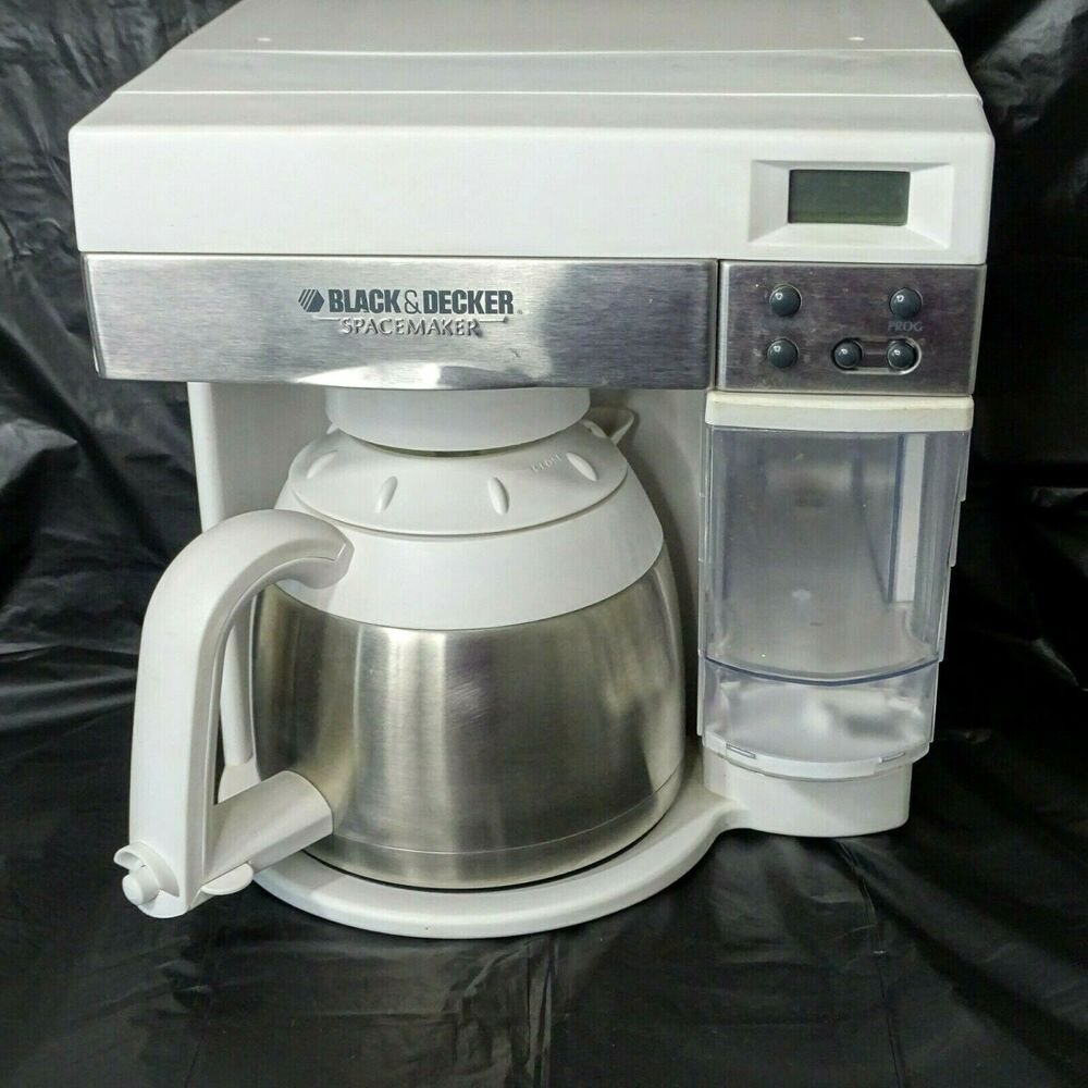Black & Decker SpaceMaker Coffee Maker 10 Cup Stainless
