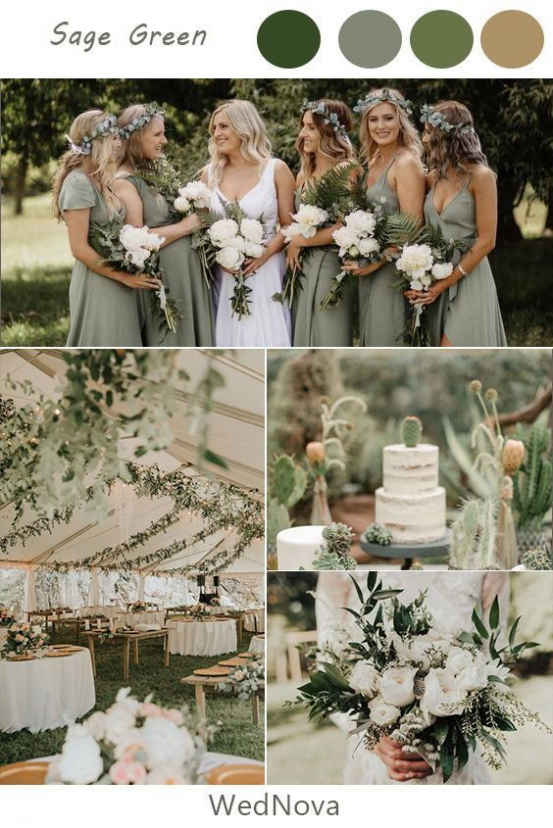 BuzzFeed -   18 sage green bridesmaid dresses fall ideas