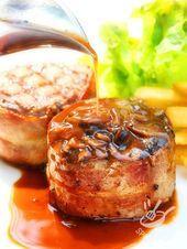 Photo of Pork fillet with mushrooms and bacon-Filetto di maiale con f…