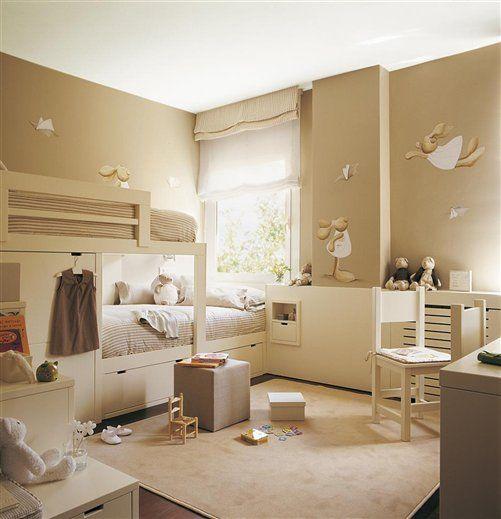 30 habitaciones para dos o m s ni os - Habitaciones para jovenes ...