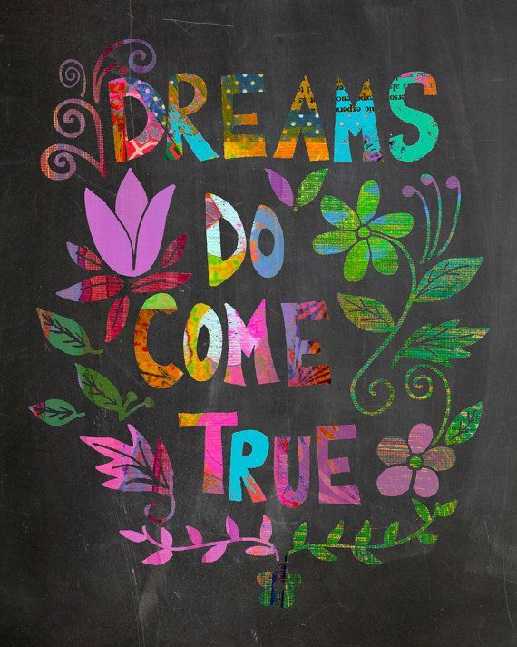 Inspirational Quote Chalkboard Print by BethNadlerArt on Etsy, $15.00