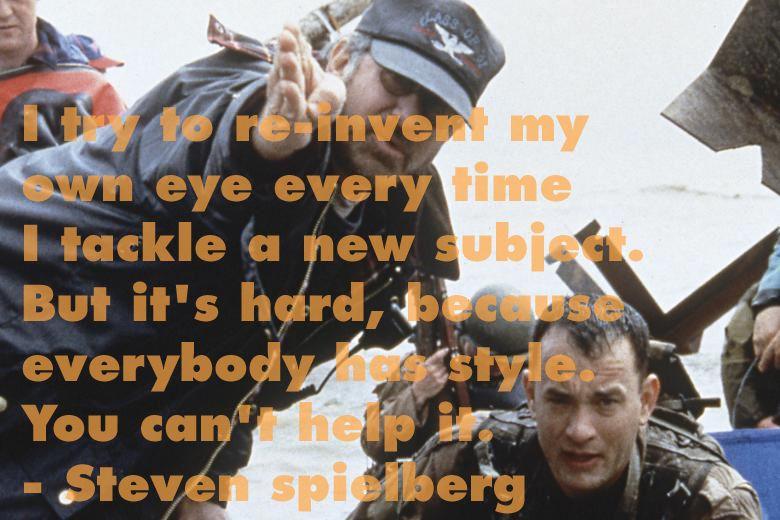 Film Director Quotes - Steven Spielberg - Movie Director Quotes #spielberg #modernmaster