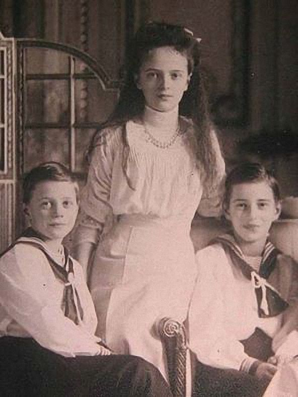 Princess Irina Alexandrovna With Two Of Her Brother S Prince
