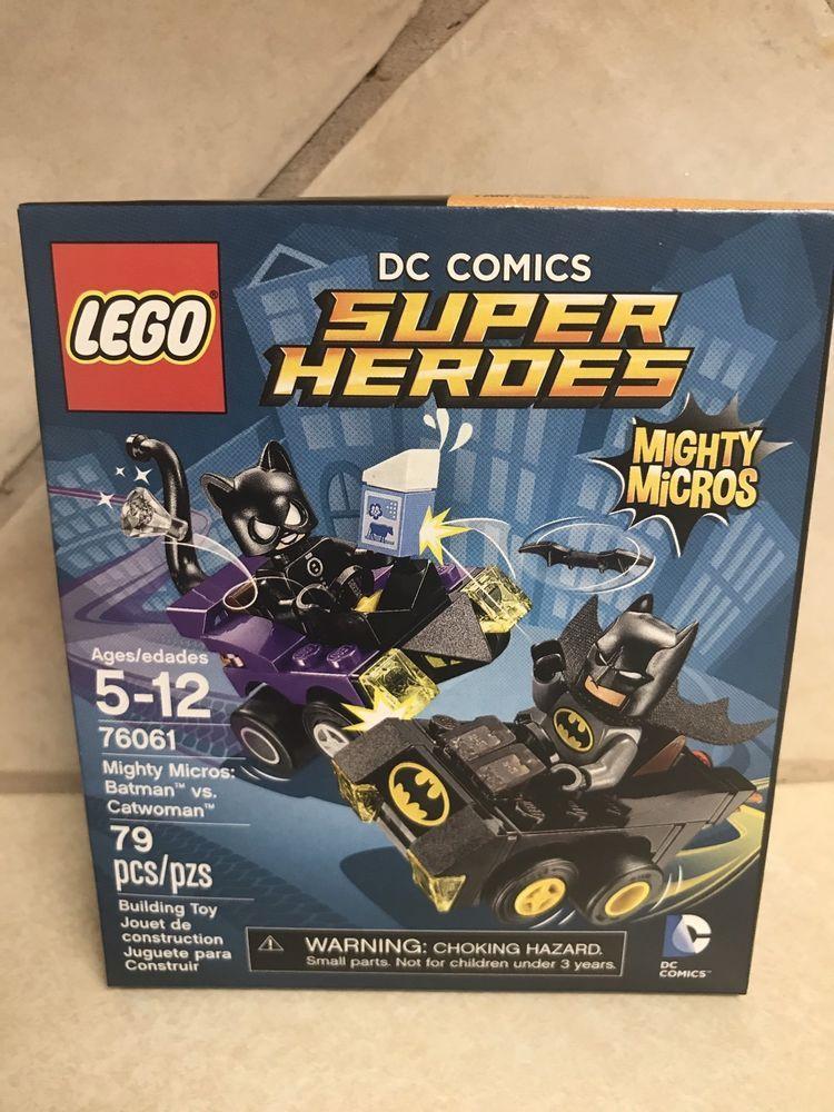 Lego Heroes Mighty Super MicrosBatman Comics VsCatwoman 79 Dc FKTJc31l