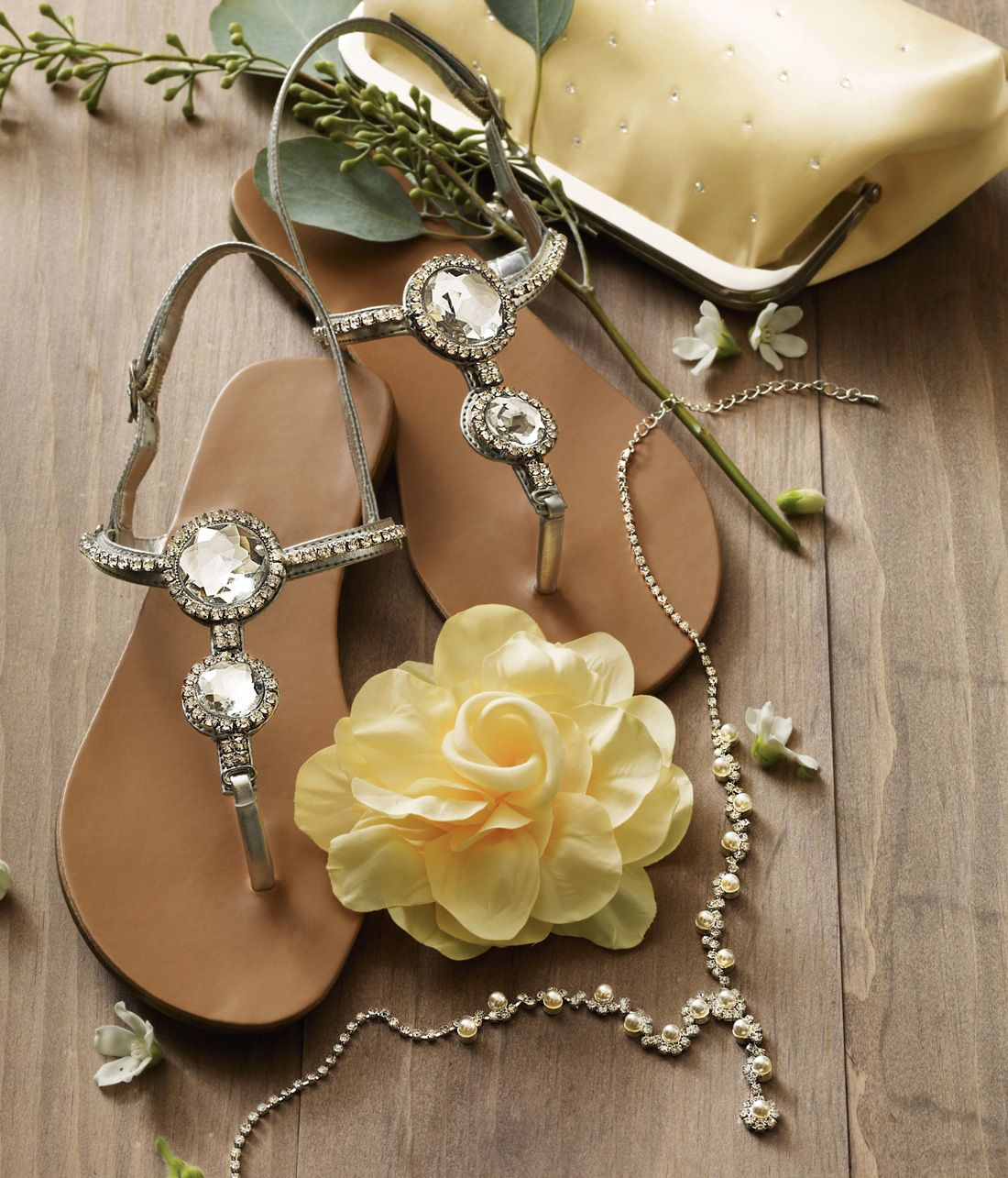 35c70149da67d Beach wedding  Try the  Lucia  sandal for your  maids so they stay  comfortable in the sand!  davidsbridal