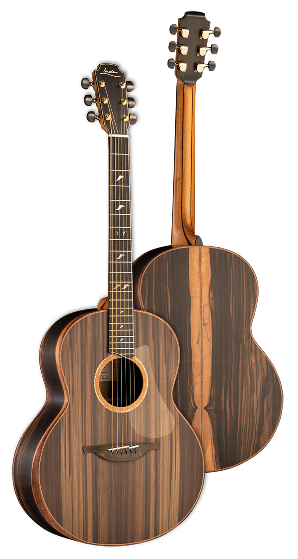 50 Series Macassar Ebony Sinker Redwood Lowden Guitars Handmade And Hand Built Acoustic Guitar Range From Downpatrick Acoustic Guitar Guitar Acoustic