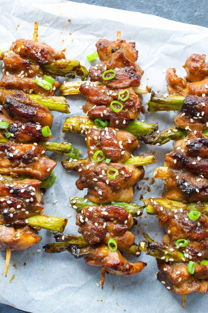 chicken yakitori  recipe in 2020  chicken japanese