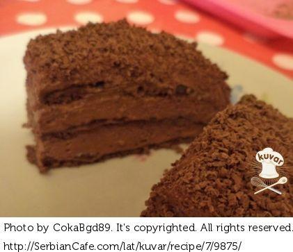 Savršeno čokoladasta tortica