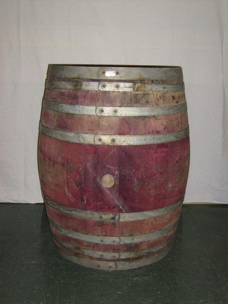 Once Used Retired Oak French Wine Barrel Aunt Mollys Barrels
