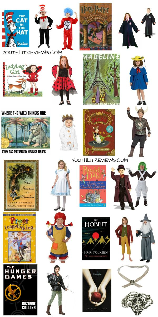 book character costumes for halloween or anytime halloween
