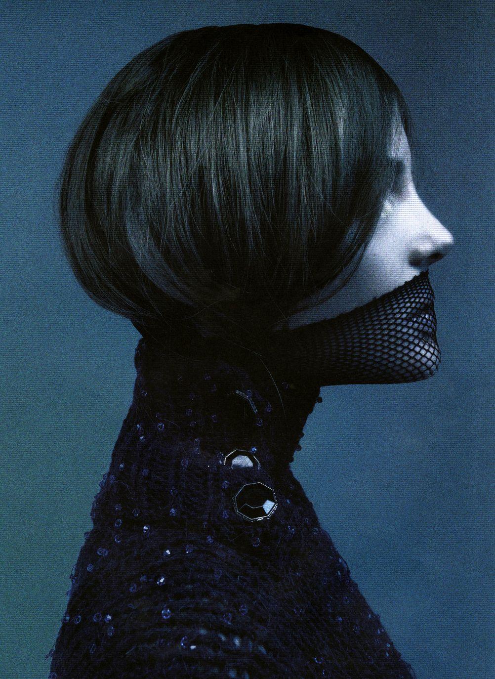 Pulp magazine photographer unkown fashion editorial dark