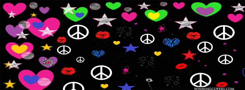 Peace Sign Signs Symbol Hippie Hippy Sixties 60s 70s Seventies
