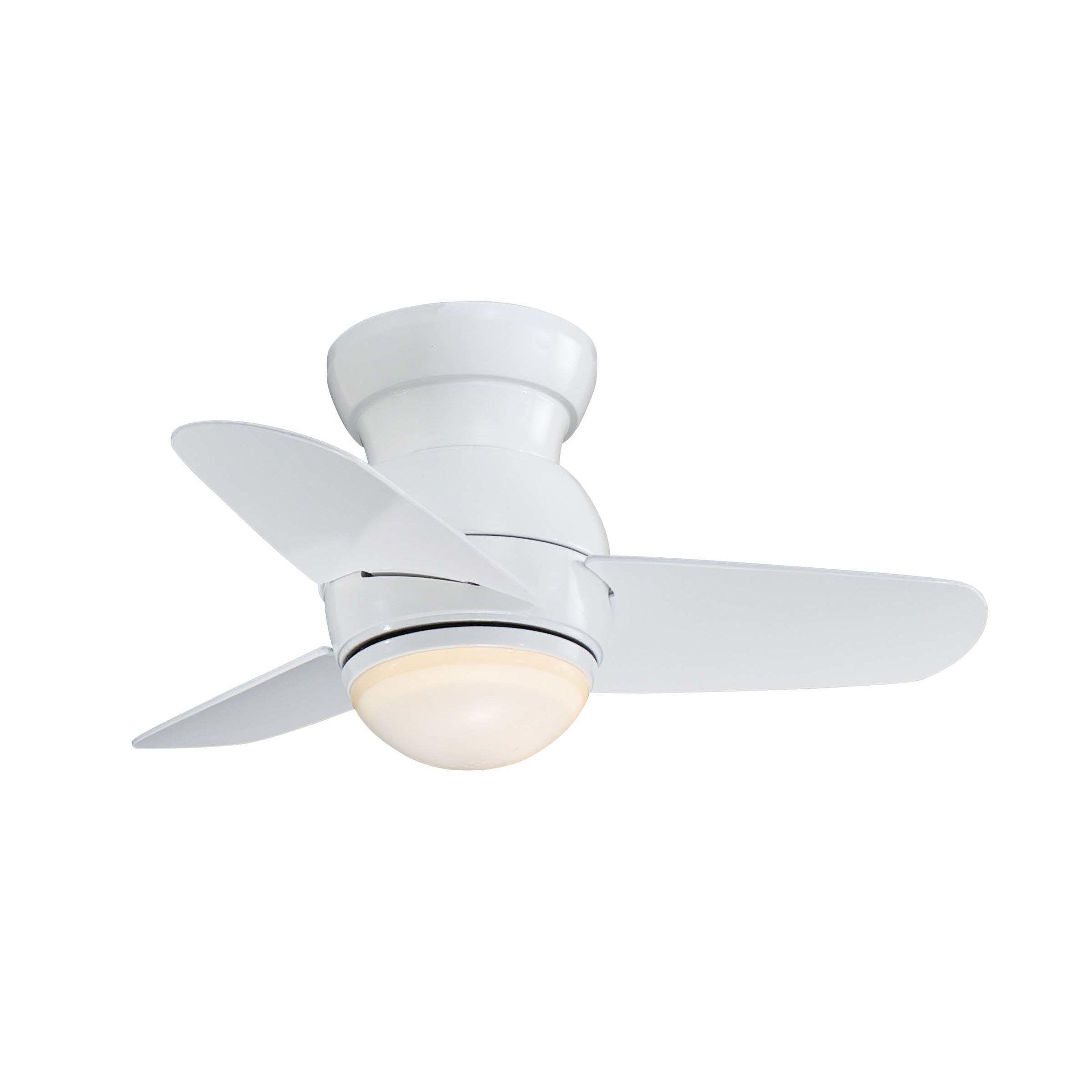 Minka Aire 26 Spacesaver Flush Mount 3 Blade Ceiling Fan Reviews Wayfair Ceiling Fan Modern Ceiling Fan Hugger Ceiling Fan Minka aire ceiling fans reviews